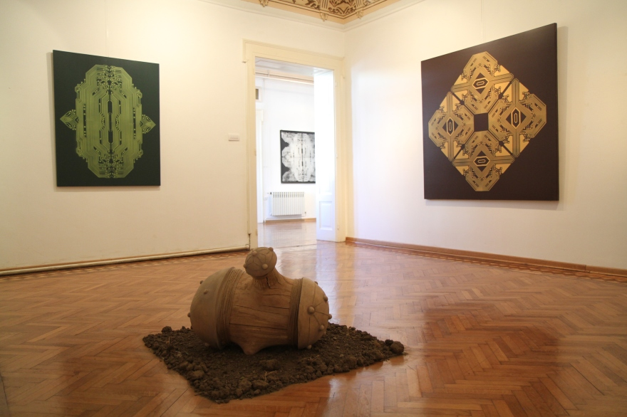 From The Core Exhibition at Kruševac National Museum Gallery in 2015.